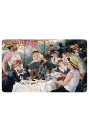 Kiss That Frog Renior Luncheon Of The Boating Party Placemat - Front cropped