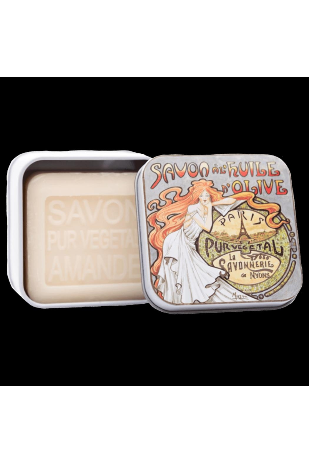 Kiss That Frog Soap In Tin Box