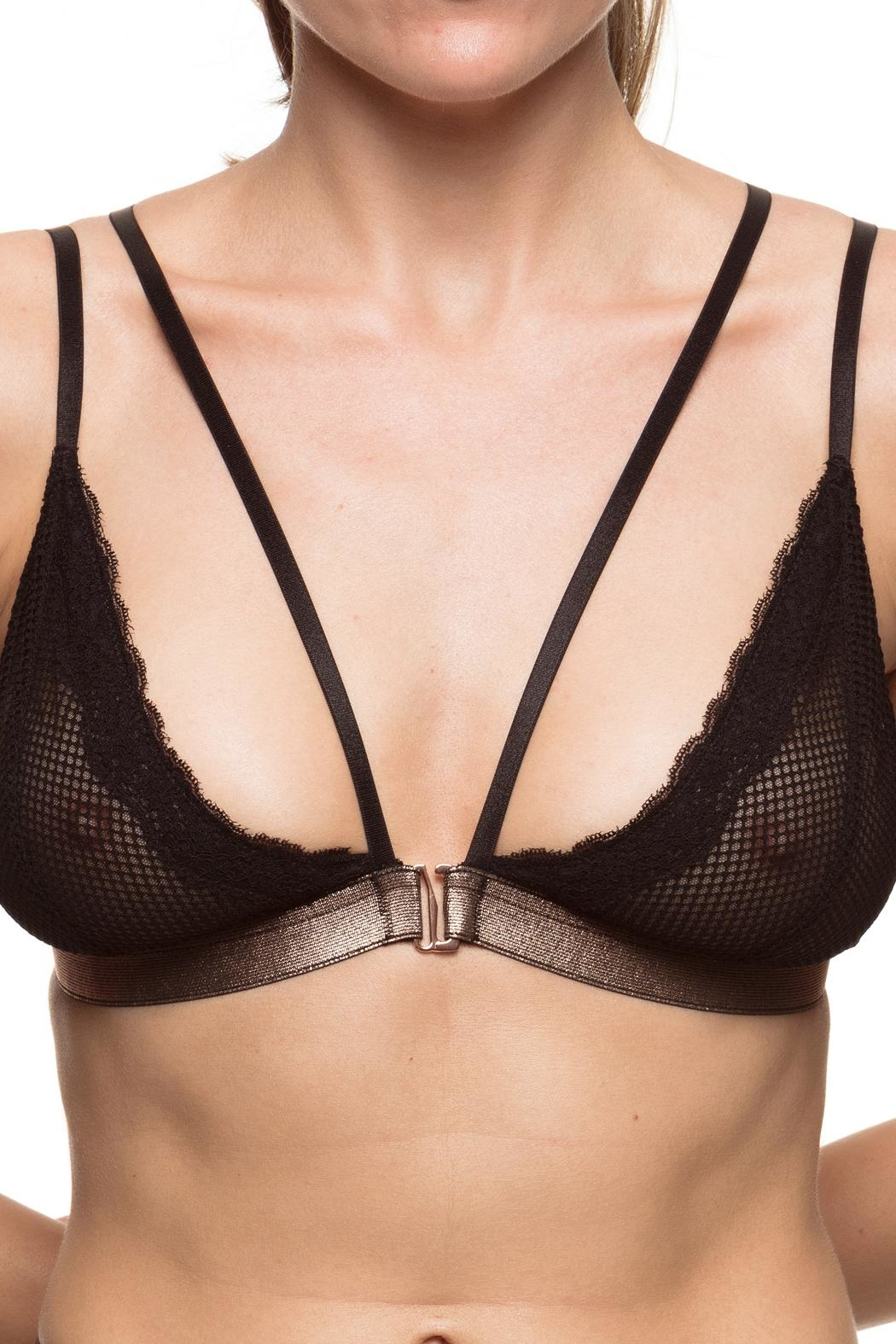 KissKill Bianca Mesh Bralette - Front Cropped Image