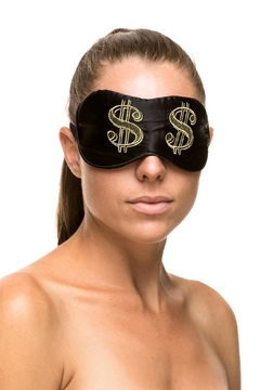 KissKill Dollar-Bills Eye Mask - Alternate List Image