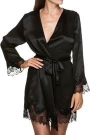 KissKill Eva Silk Robe - Product Mini Image