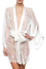 KissKill Ivory Fiore Robe - Product Mini Image