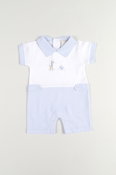 Kissy Kissy Animal Button Romper - Product List Image