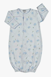 Kissy Kissy Baby-Boy Bunny-Patch Convertible-Gown - Front cropped