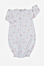 Kissy Kissy Baby-Girl Bunny-Patch Convertible-Gown - Front cropped
