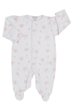 Shoptiques Product: Baby-Girl Bunny-Patch Footie