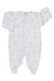 Kissy Kissy Baby-Girl Bunny-Patch Footie - Front cropped