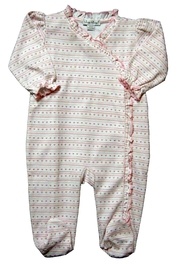 Kissy Kissy Baby-Girl Doll-House-Dreams Footie - Front cropped