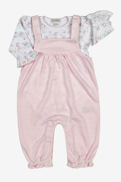 Shoptiques Product: Baby-Girl Nature's-Nursery Coverall-Set