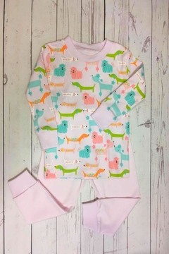 Shoptiques Product: Pink Puppy Pajamas