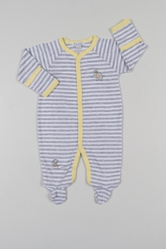 Shoptiques Product: Striped Animal Onesie