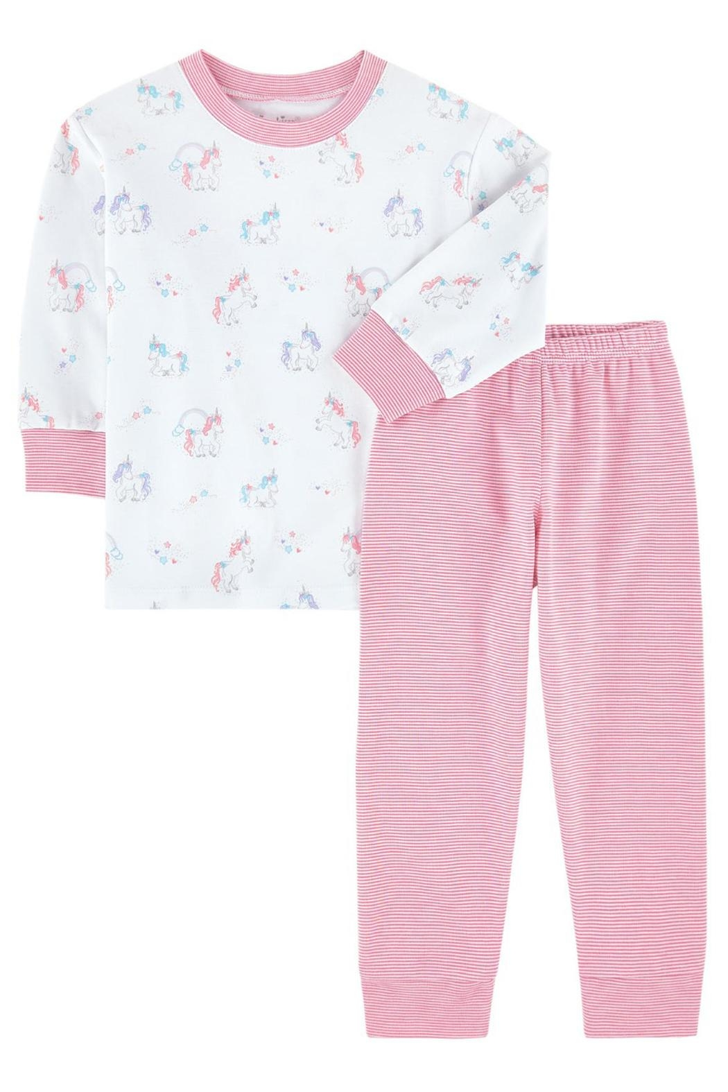Kissy Kissy Unicorn Pj Set - Front Cropped Image