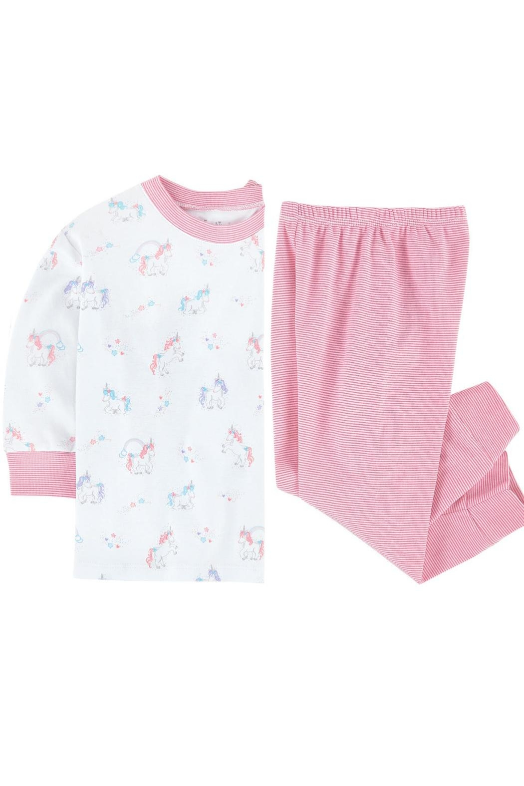 Kissy Kissy Unicorn Pj Set - Side Cropped Image