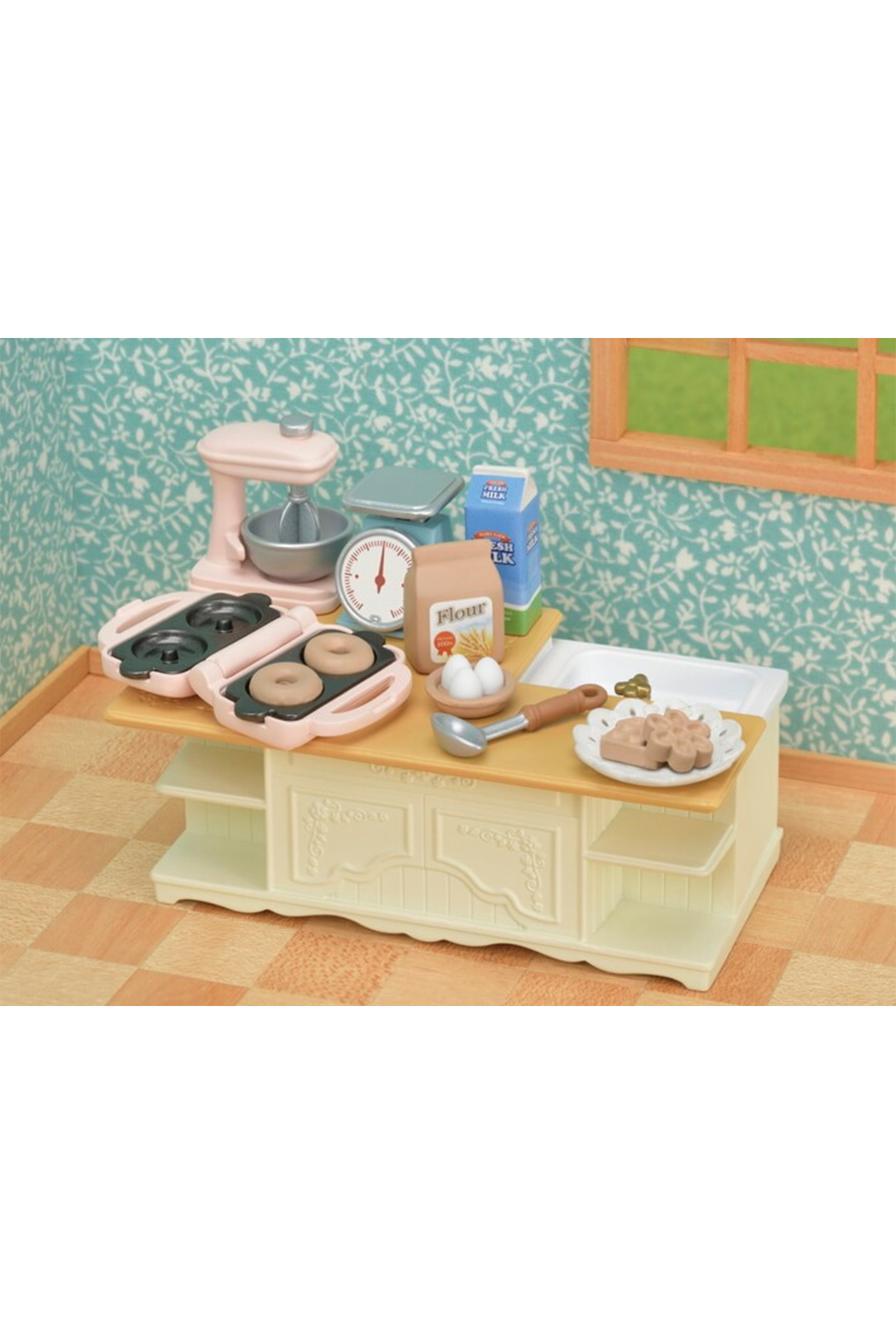 Calico Critters Kitchen Island - Side Cropped Image