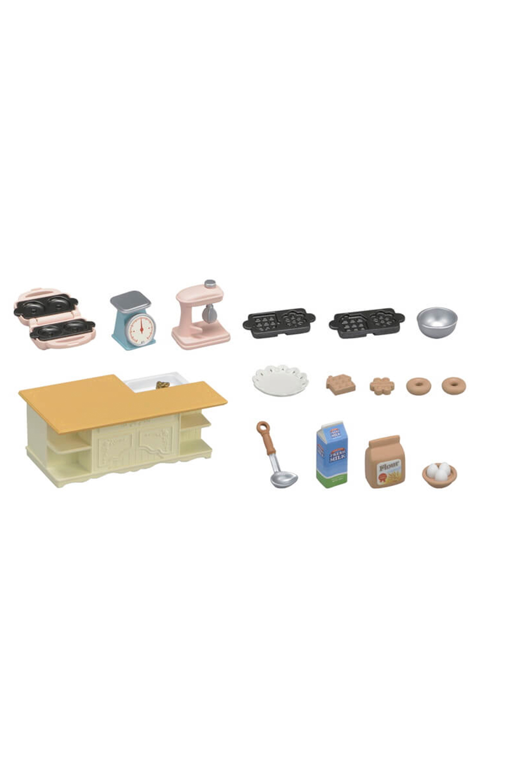 Calico Critters Kitchen Island - Front Full Image