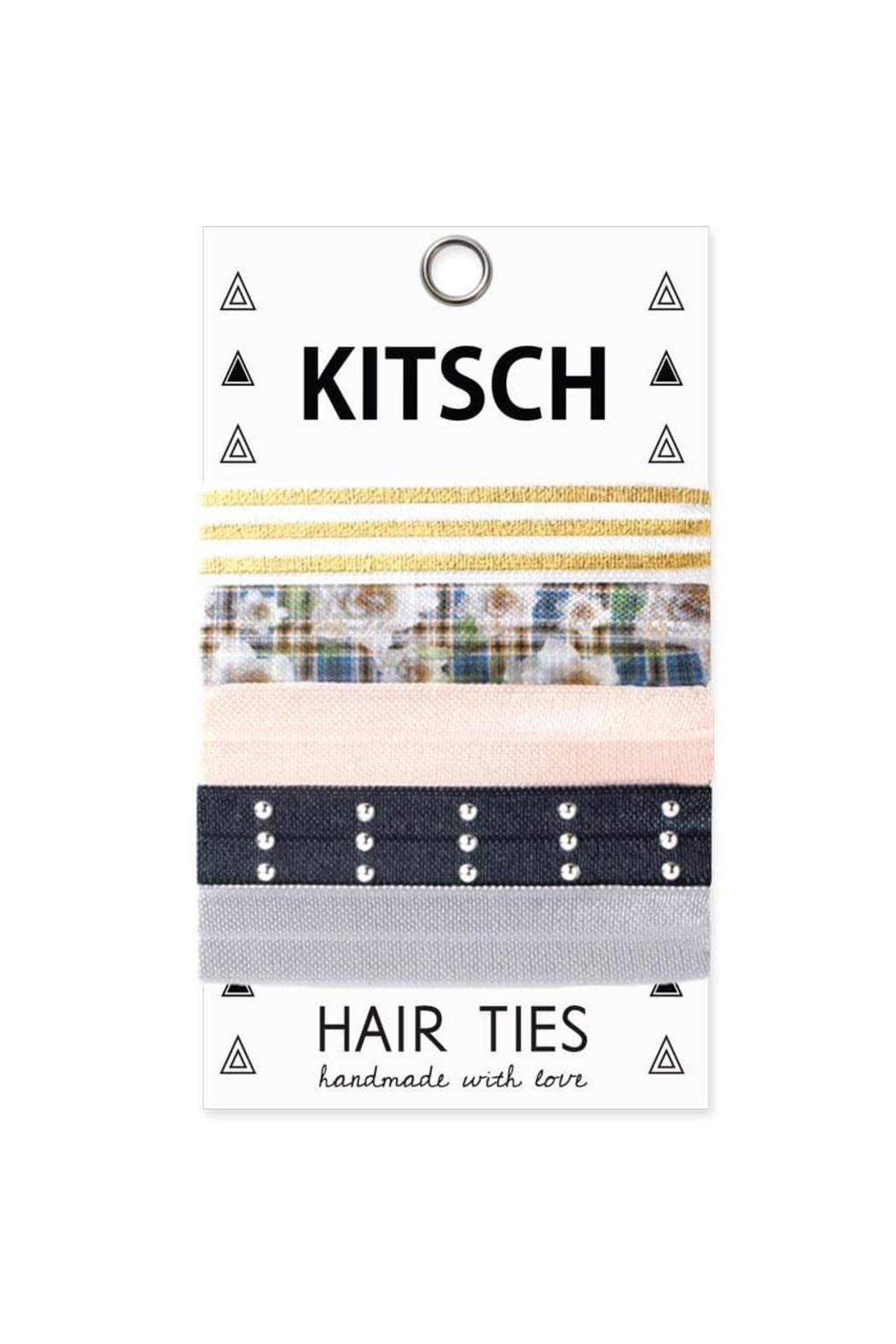 Kitsch Clueless Hair Ties - Front Cropped Image