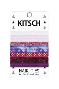 Kitsch Mauve Mix Hair Ties - Product List Image
