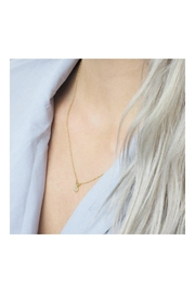 Kitsch Pineapple Necklace Set - Side cropped
