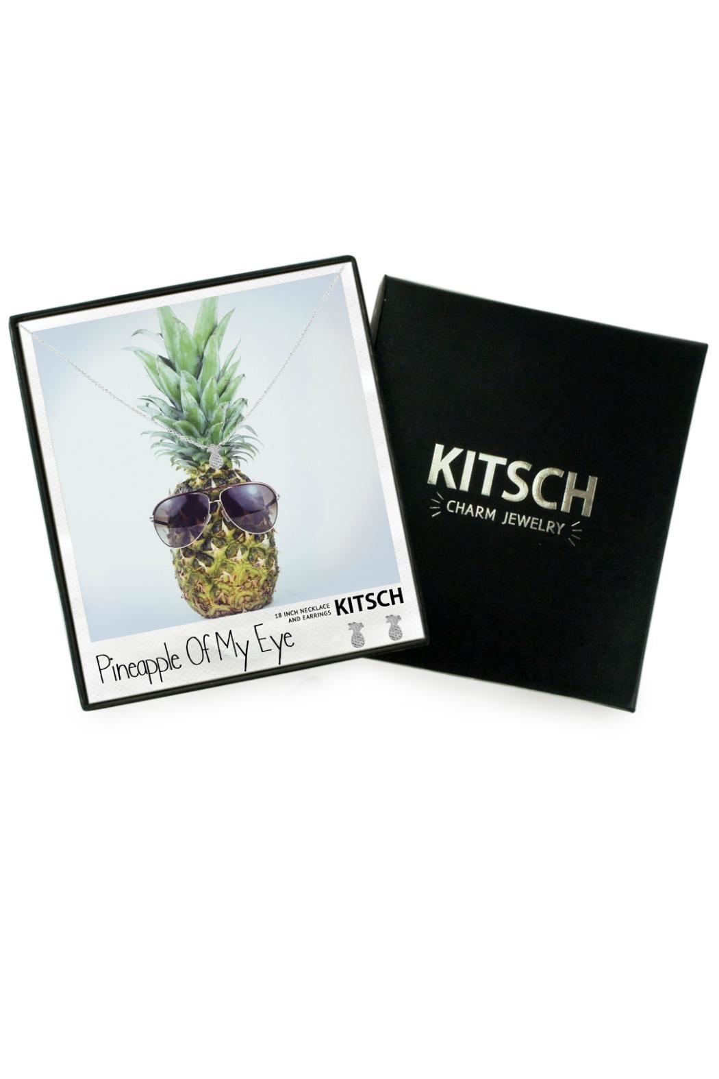 Kitsch Pineapple Necklace Set - Main Image