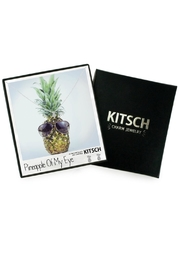 Kitsch Pineapple Necklace Set - Product Mini Image