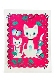 Kitsch Kitchen Cute Cats Poster - Product Mini Image