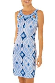 Gretchen Scott Kitt Ikat Isosceles Dress - Product Mini Image