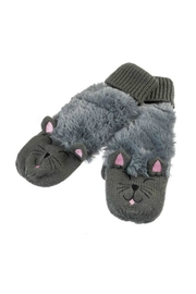 Howard's Kitty Critter Mittens - Front cropped