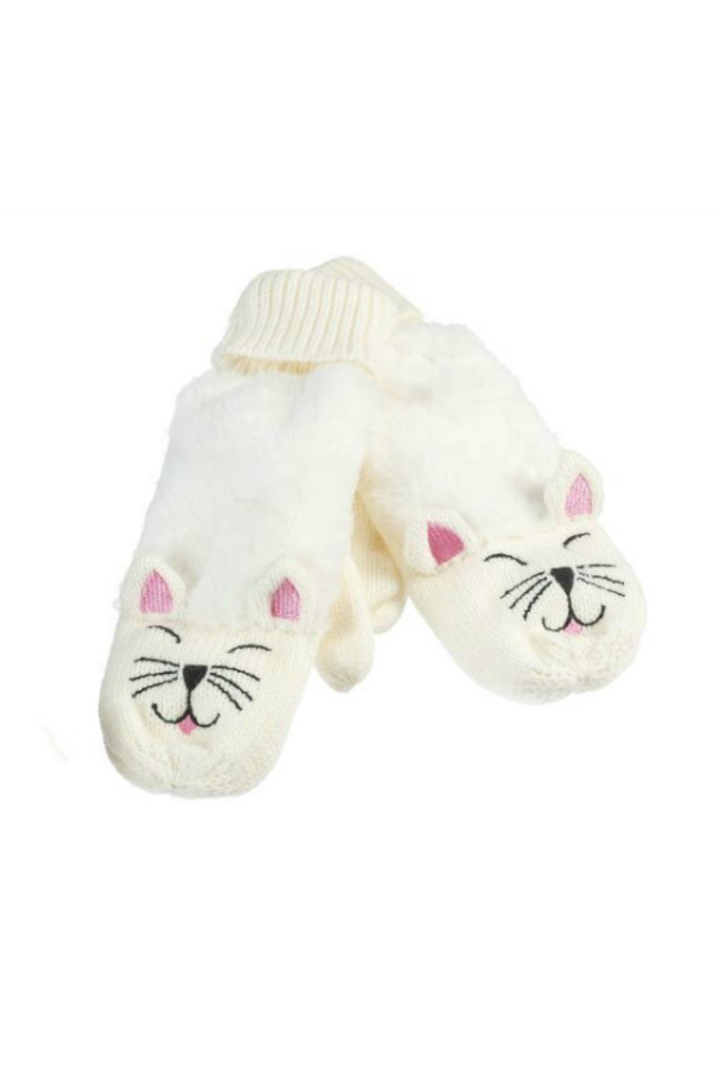Howard's Kitty Critter Mittens - Front Cropped Image