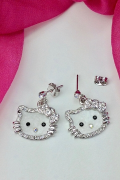 GHome2 Kitty Drop Earrings - Product List Image