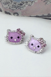 GHome2 Kitty Post Earrings - Product Mini Image