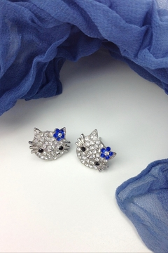 GHome2 Kitty Post Earrings - Product List Image
