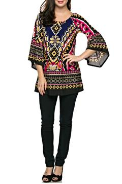 Shoptiques Product: Aztec Printed Tunic