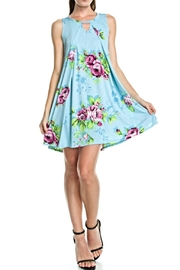 KITTY COUTURE  Blue Floral Sleeveless - Product Mini Image