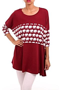 Shoptiques Product: Elephant Accent Tunic