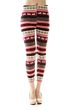KITTY COUTURE  Fleece knit leggings - Product List Image