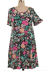 KITTY COUTURE  Floral Pocket Tunic - Product Mini Image