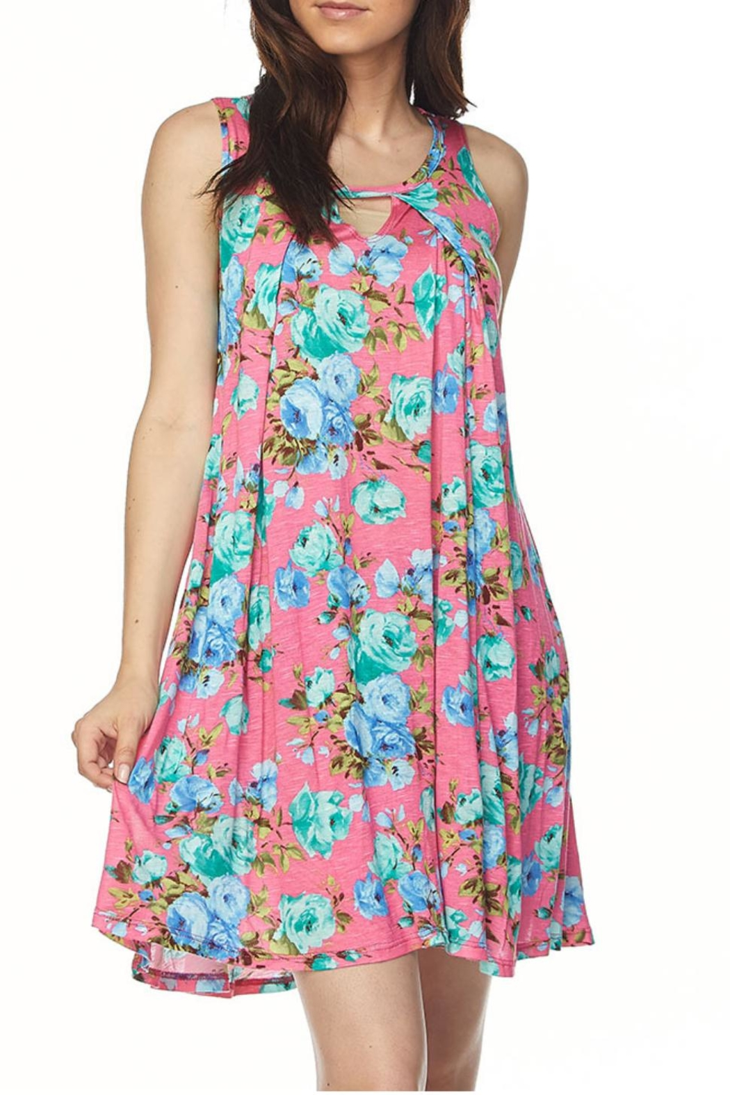 b49b72fe2bd KITTY COUTURE Floral Sleeveless Tunic from Alabama by Kitty Couture ...