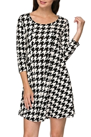 KITTY COUTURE  Houndstooth Tunic - Product Mini Image