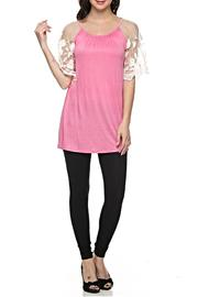 KITTY COUTURE  Lace Sleeve Tunic - Product Mini Image