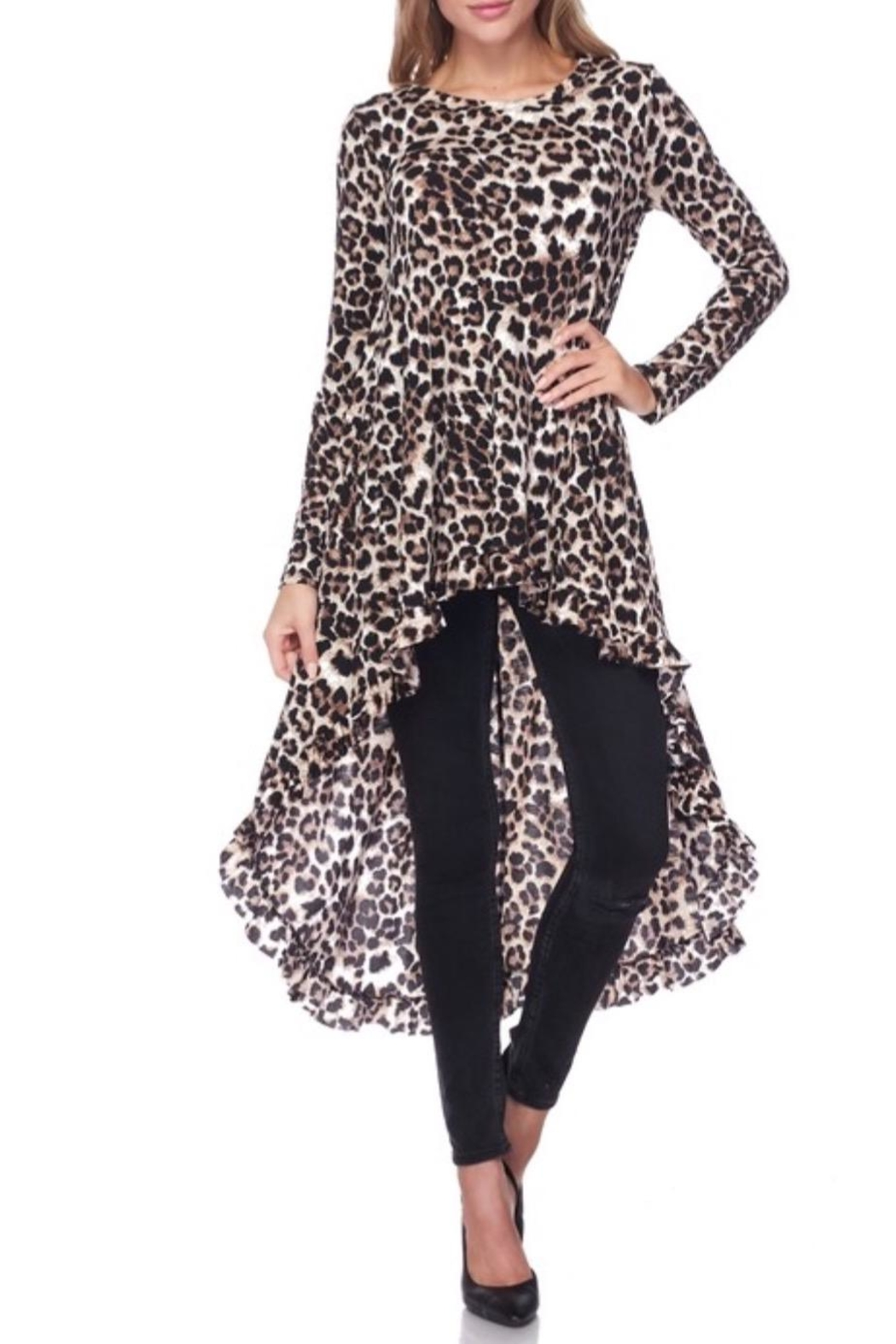 KITTY COUTURE  Leopard Print Tunic - Main Image