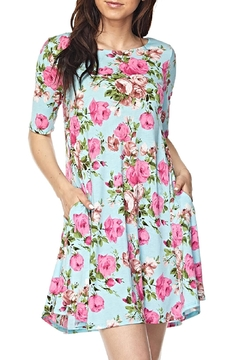 KITTY COUTURE  Mint Floral Dress - Alternate List Image