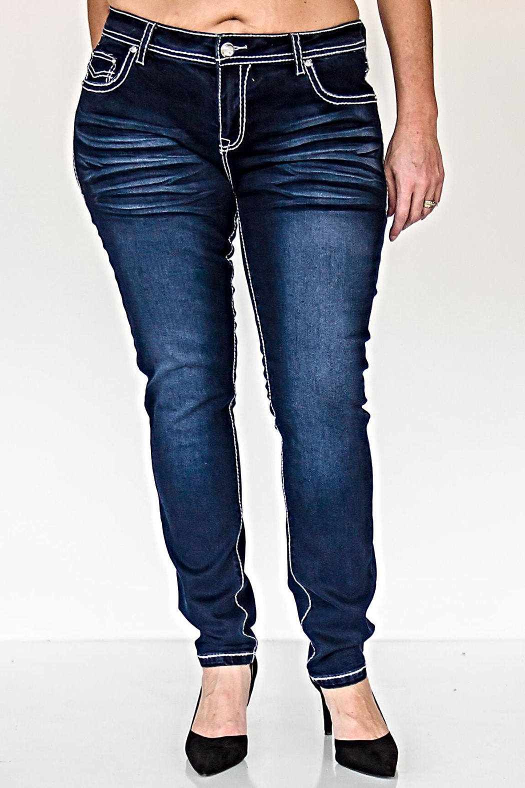 KITTY COUTURE  P413 Denim Jeans - Main Image