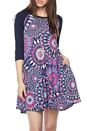 KITTY COUTURE  Printed Contrast Tunic - Front cropped