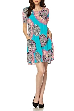 Shoptiques Product: Printed Cutout Tunic