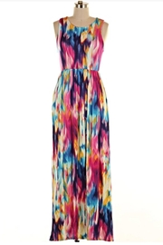 KITTY COUTURE  Printed Sleeveless Maxi - Front cropped
