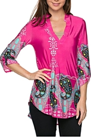 KITTY COUTURE  Printed Tunic - Product Mini Image