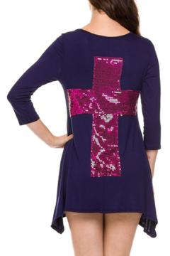 Shoptiques Product: Sequin Cross Tunic