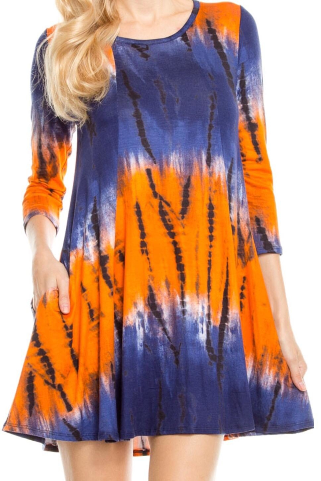 KITTY COUTURE  Tie Dye Tunic - Main Image