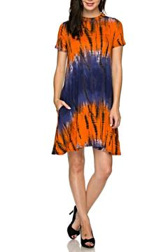Shoptiques Product: Tie Dye Pocket Dress