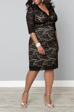 Kiyonna Lace Cocktail Dress - Alternate List Image